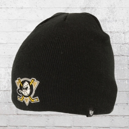 47 Brands Winter Mütze Anaheim Ducks Beanie schwarz