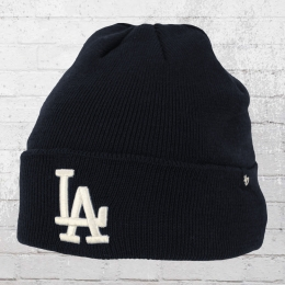 47 Brands Wintermütze LA Dodgers Raised Cuff Knit Beanie blau