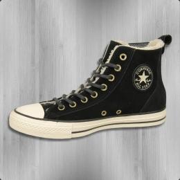 Converse Winter Schuhe Chelsea Boot mit Fell 549599 C schwarz