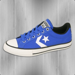 Converse Kinder Star Player EV OX Schuhe Chucks blau weiss