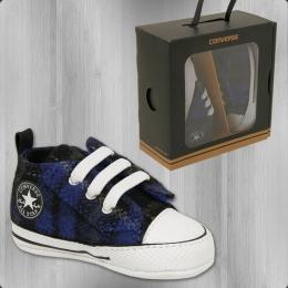 Converse Baby Schuhe Easy Slip Lauflernschuhe blau schwarz
