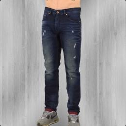 Fuga Jeans Hose Herren Adam Röhrenjeans dark blue