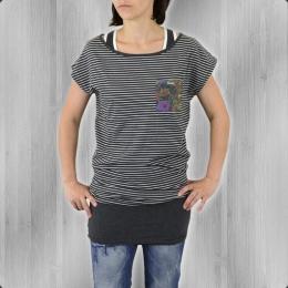Billabong Frauen Minikleid Agata Longshirt grey heather