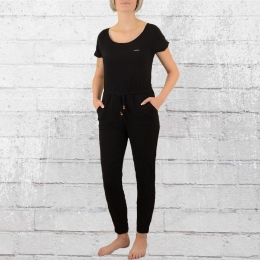 Alife and Kickin Damen Jumpsuit Jolie schwarz