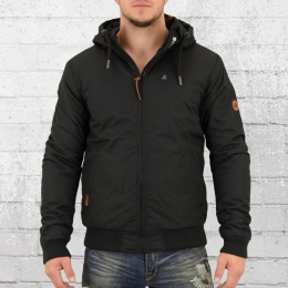Alife and Kickin Herren Jacke Don schwarz