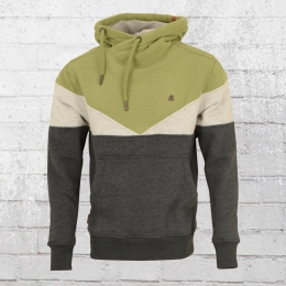 Alife and Kickin Herren Kapuzen-Sweater Jasper oliv grau
