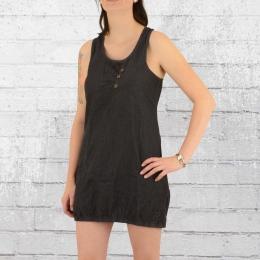 Alife and Kickin Mini Kleid Cameron A schwarz grau gestreift