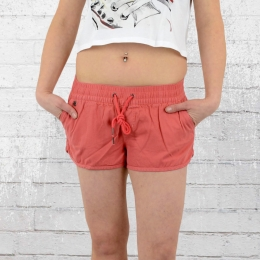 All About Eve Short Damen Essential Hotpants coral rot