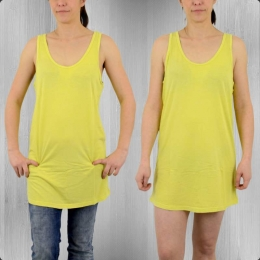 All About Eve Damen Tank Top Kleid Alley citrus