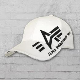 Alpha Industries Cap Big A Cross white