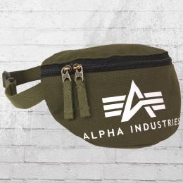 Alpha Industries Gürteltasche Big A Canvas Waist Bag Bauchtasche olive