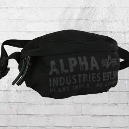 Alpha Industries Gürteltasche Cargo Oxford Waist Bag Bauchtasche schwarz