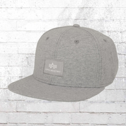 Alpha Industries Snapback Cap X-Fit grau melange