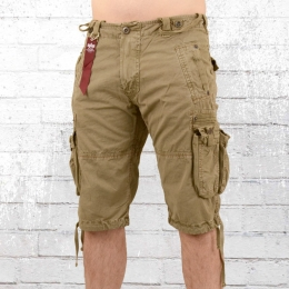 Alpha Industries Terminal Cargo Short beige