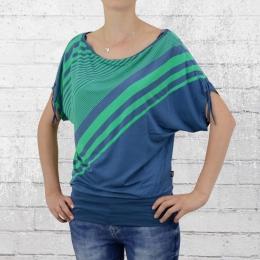 ATO Berlin Damen Shirt Mona blau grün