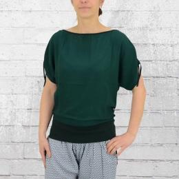 ATO Berlin Damen Shirt Mona dunkelgrün