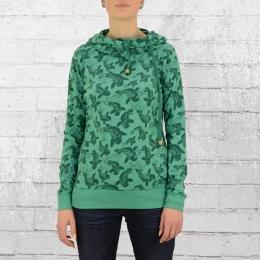 ATO Berlin Frauen Kapuzen Shirt Jondra Koi grün