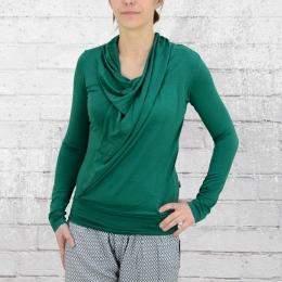 ATO Berlin Frauen Longsleeve Shirt Mariola grün