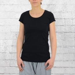ATO Berlin Frauen T-Shirt Organic Cotton Jula schwarz