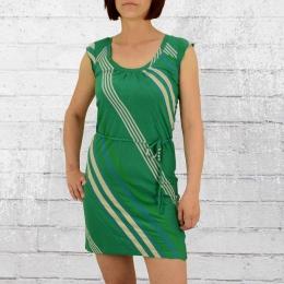 ATO Damen Kleid Rosamunde grün beige