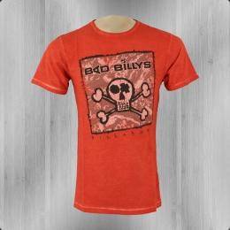 Billabong T-Shirt Herren Bad Billy flame rot