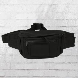 Bag Base Molle Bauchtasche Gross schwarz