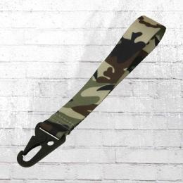 Bag Base Schlüsselband Kurz dschungel camo