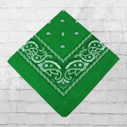 Bandana Paisley Tuch Nickituch kelly grün