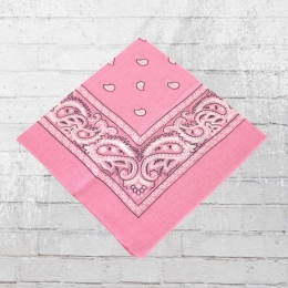 Bandana Paisley Tuch Nickituch light pink