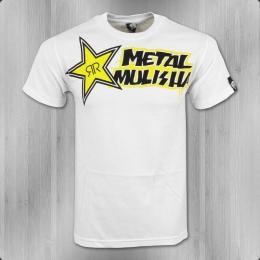 Metal Mulisha Rockstar Männer T-Shirt Base RKSTR weiß
