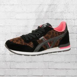 BASSED by Xti Damen Sneaker Zapato Sra Leopard Schuhe schwarz braun