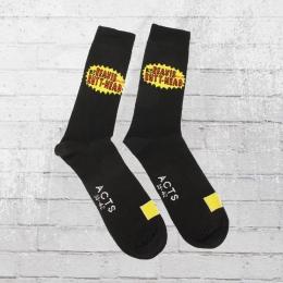 Beavis and Butthead Strümpfe Logo Socks 2er Paar schwarz