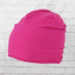 Beechfield Jersey Beanie pink