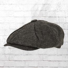 Beechfield Ballon-Mütze Heritage Bakerboy Cap grau