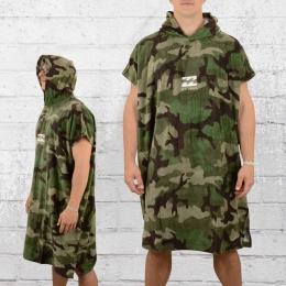 Billabong Bade-Handtuch mit Kapuze Vader Hoodie Towel camo