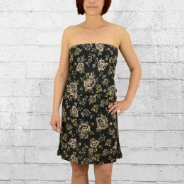 Billabong Bandeau Kleid Frauen New Amed schwarz bunt