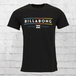 Billabong Basic Männer T-Shirt Dual Unity schwarz