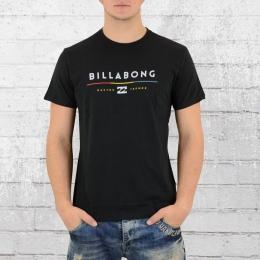 Billabong Basic T-Shirt Herren Tri Unity schwarz