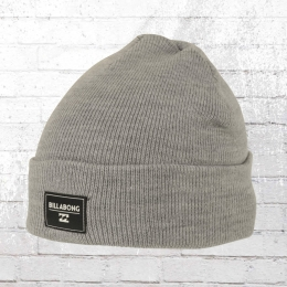 Billabong Beanie Disaster Strickmütze grau melange