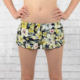 Billabong Damen Badehose Tropical BS Shorts schwarz bunt