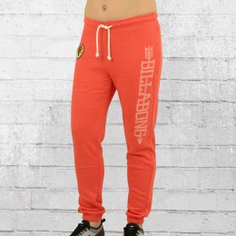 Billabong Damen Jogginghose Been Waiting vintage rot