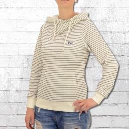 Billabong Damen Kapuzensweater Louna naturweiss gestreift