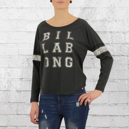 Billabong Damen Longsleeve Shirt Varsity dunkelgrau