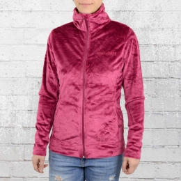 Billabong Damen Snow Micro Polar Jacke Fleecy sangria