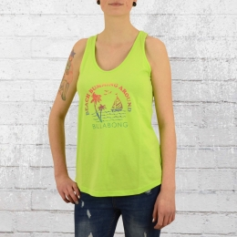 Billabong Damen Tank Top Escape neon grün