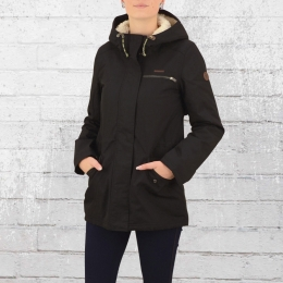 Billabong Damen Winter-Jacke Faciliti schwarz