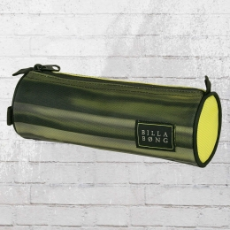 Billabong Federmappe Barrel Pencil Case Schlamperbeutel gelb schwarz