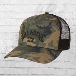 Billabong Flatwall Trucker Cap camouflage