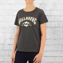 Billabong Frauen T-Shirt Legacy anthrazit
