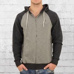 Billabong Herren Kapuzen-Jacke Balance Zip Up schwarz grau